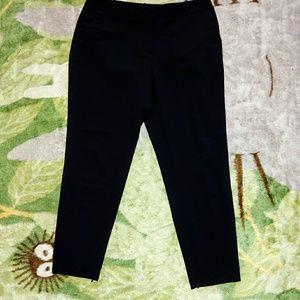 EUC Worthington Black Ankle Dress Pants